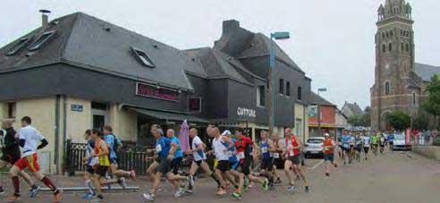 La course l'échapée des fougeretz se déroulant sur la commune de fougeretz