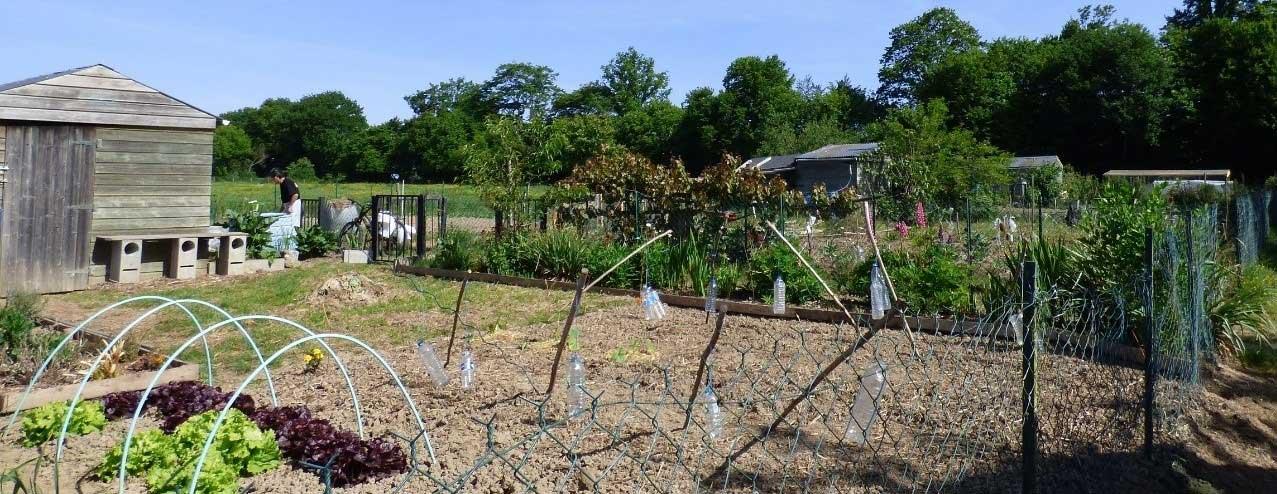 Les jardins familliaux de La Chapelle-des-Fougeretz