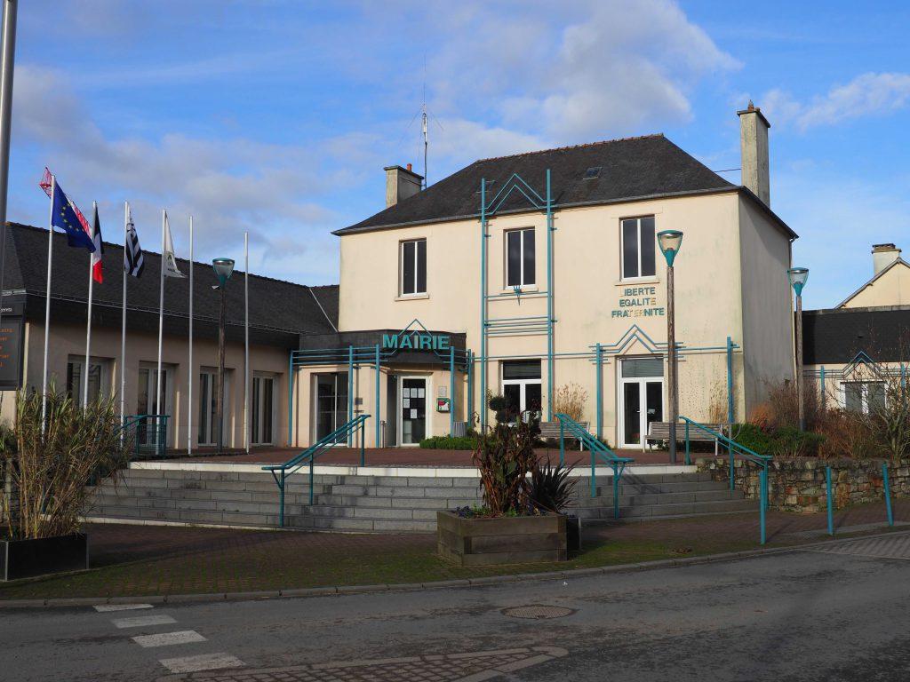 La mairie de La Chapelle-des-Fougeretz