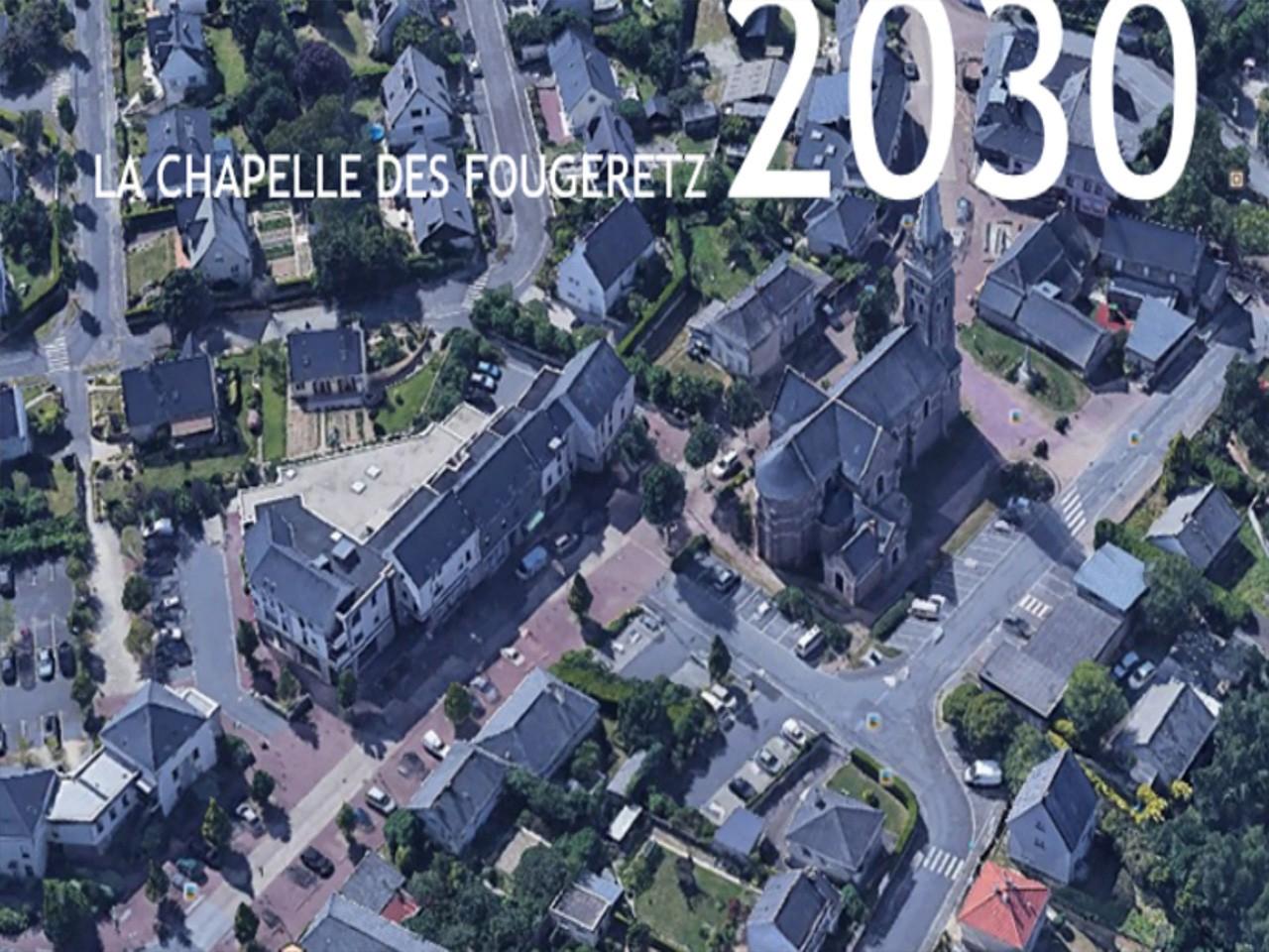 La Chapelle-des-Fougeretz en 2030