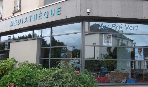La médiathèque Au Pré Vert de La Chapelle-des-Fougeretz